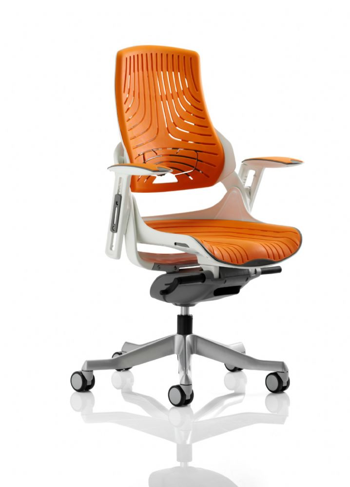 Zure Executive Task Chair Office Seat & Back Elastomer Gel Material Various Colours available